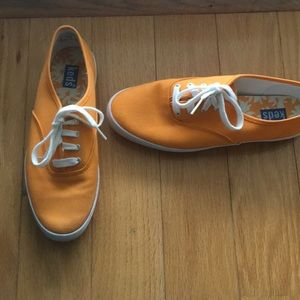 Keds Sneakers  Size 7 Orange Canvas